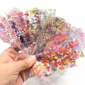 2/$20 Floral Nail Art Transfer Sheets (x25 sheets)